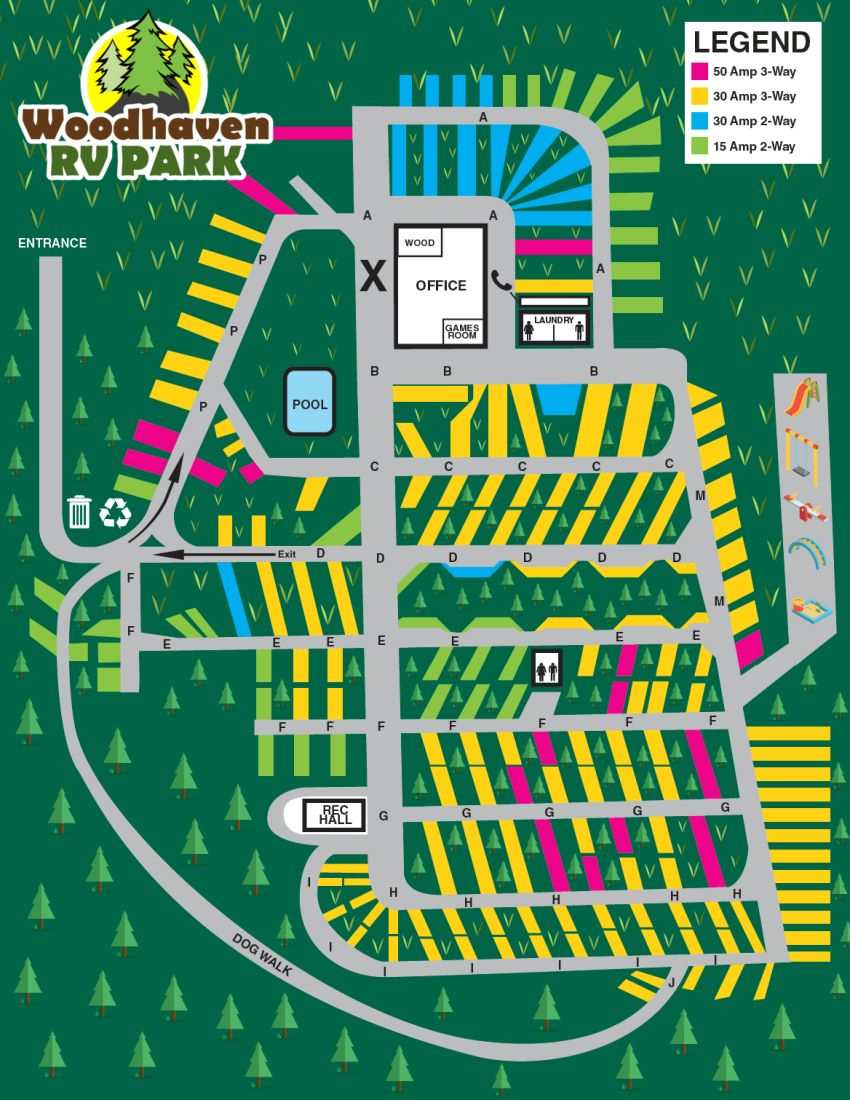 Woodhaven R V  Park | Camping Rates | Campground in Halifax